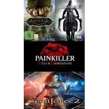 Darksiders 2, Arcania, Painkiller, Speelforce 2 (RegFREE)