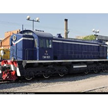 TEM-1 electric locomotive circuit