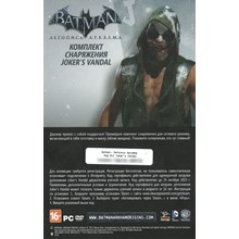 DLC Jokers Vandal for Batman: Arkham Origins