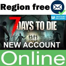 7 Days to Die account + 10 years + EMAIL (Region Free)