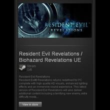 Resident Evil Revelations - STEAM Gift - Region Free**