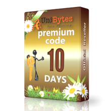 Unibytes premium access for 10 days to buy instantly