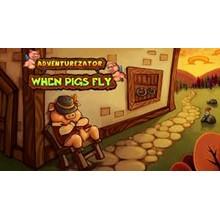 Adventurezator: When Pigs Fly (Steam Key / Region Free)