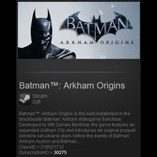 Batman Arkham Origins ROW Steam Gift / Reg Free / Tradb