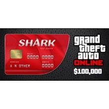 Grand Theft Auto Online : Red Shark Cash Card 💎GLOBAL