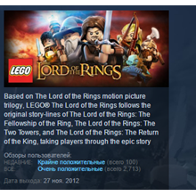 LEGO The Lord of the Rings STEAM KEY REGION FREE 💎