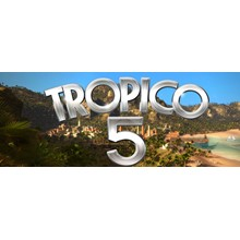 Tropico 5 (Steam region free; ROW gift)
