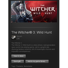 The Witcher 3: Wild Hunt - STEAM Gift / GLOBAL / ROW