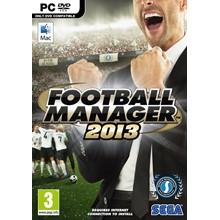 Football Manager 2013 (Steam key, RU+CIS)