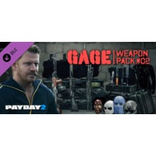 PAYDAY 2: Gage Weapon Pack 02 💎 STEAM GIFT RU