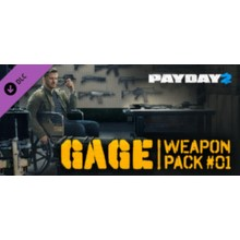 PAYDAY 2: Gage Weapon Pack #01 DLC 💎 STEAM GIFT RU