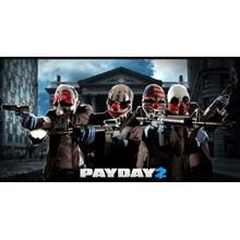 Account Payday 2 (Steam region free; ROW account)