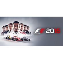 F1 2016 (Steam KEY / ROW / Region free / Global)