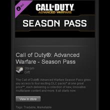 CoD Advanced Warfare - Season Pass - STEAM Gift GLOBAL
