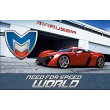 Need For Speed \u200b\u200bWorld (PHOTOS code Marussia B2)