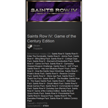 Saints Row IV: Game of the Century Edition (ROW) gift