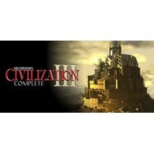 Civilization III Complete key Global💳0% fees Card
