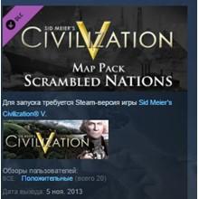 Sid Meier´s Civilization V: Scrambled Nations Map Pack