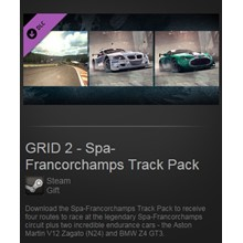 GRID 2 Spa-Francorchamps Track Pack DLC (Steam / ROW)
