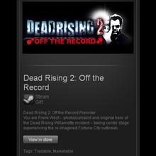 Dead Rising 2 Off the Record - STEAM Gift / RU+CIS+UA
