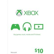 XBOX LIVE CARD $10 (USA) | DISCOUNTS