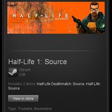 Half-Life 1: Source - Steam Gift - Region Free / GLOBAL