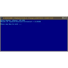 Working with co-processor in Assembler