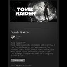 Tomb Raider - STEAM GIft - Region Free / ROW / GLOBAL