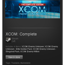 Enemy Unknown Complete - STEAM Gift - Region Free / ROW