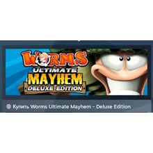 Worms Ultimate Mayhem Deluxe Edition STEAM KEY LICENSE