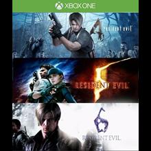Resident Evil 4 + 5 + 6 Franchise Pack (STEAM / RU/CIS)