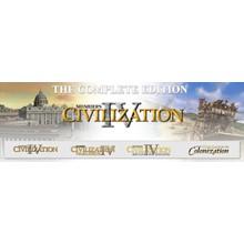 Sid Meiers Civilization 4: Complete Edition STEAM KEY