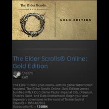 The Elder Scrolls Online Gold Edition (Steam gift/free)