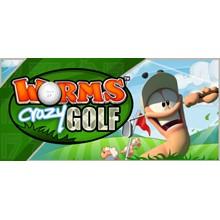 Worms Crazy Golf STEAM KEY REGION FREE GLOBAL