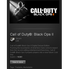 COD BO 2 Deluxe Edition - STEAM Gift Region Free GLOBAL