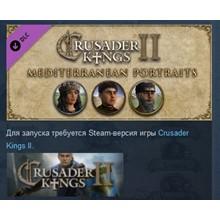 Crusader Kings II Mediterranean Portraits STEAM GIFT RU