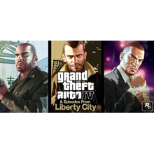 GTA: Grand Theft Auto IV - The Complete Edition (3 in1)