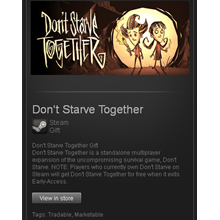 Don´t Starve Together - STEAM Gift - Region RU+CIS+UA