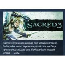 Sacred 3 Extended edition +DLC Bonus STEAM KEY 💎