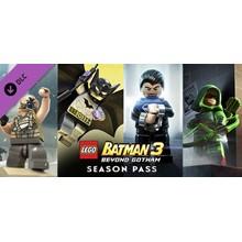 LEGO Batman 3: Beyond Gotham Season Pass (DLC) STEAM