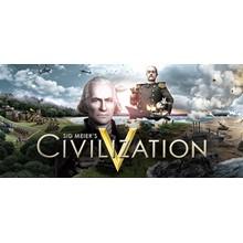Sid Meiers Civilization 5 + DLC (STEAM KEY / RU/CIS)