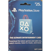 PLAYSTATION NETWORK (PSN) - $25 (USA) | Discounts