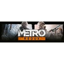 Metro Redux Bundle (2033 + Last Light) STEAM KEY/RU/CIS