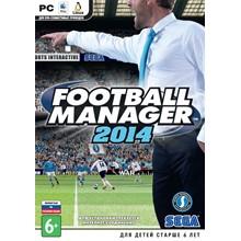 Football Manager 2014 (Steam key, RU+CIS)