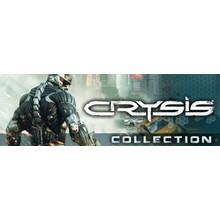 Crysis Collection (1+2 Maximum Edition + Warhead) STEAM