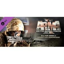 Arma 2 British Armed Forces (DLC) STEAM KEY/REGION FREE