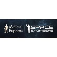 Medieval Engineers + Space Engineers (ROW account)