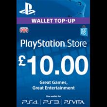 PLAYSTATION NETWORK (PSN) - £10 GBP (UK) | DISCOUN