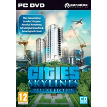 Cities: Skylines Deluxe Edition (Steam KEY) + GIFT