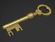 Mann Co. Supply Crate Key from game Team Fortress 2